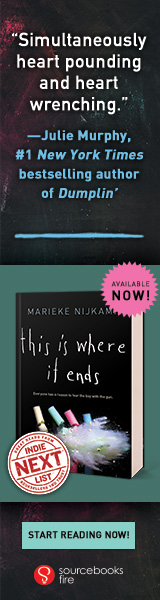 Sourcebooks Fire: This is Where it Ends by Marieke Nijkamp