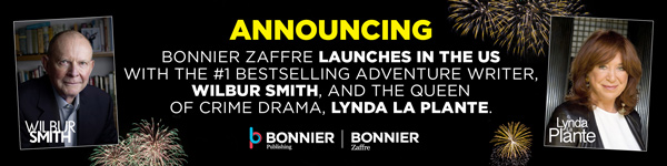 Bonnier Zaffre launches in the U.S. with bestselling authors Wilbur Smith and Lynda La Plante