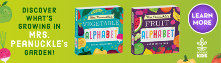 Rodale Kids: Mrs. Peanuckle's Vegetable/Fruit Alphabet, illustrated by Jessie Ford