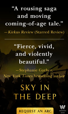 Wednesday Books: Sky in the Deep by Adrienne Young