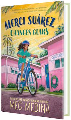 Candlewick Press: Merci Suárez Changes Gears by Meg Medina