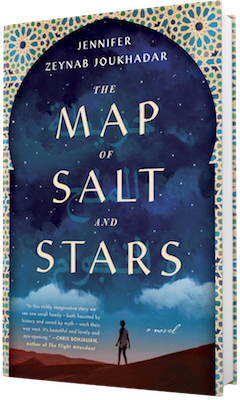 Touchstone Books: The Map of Salt and Stars by Jennifer Zeynab Joukhadar