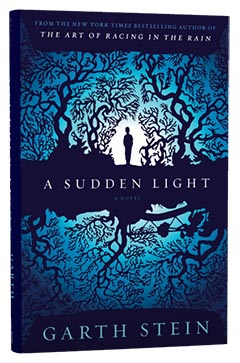 Simon & Schuster: A Sudden Light by Garth Stein