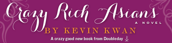 Doubleday: Crazy Rich Asians by Kevin Kwan
