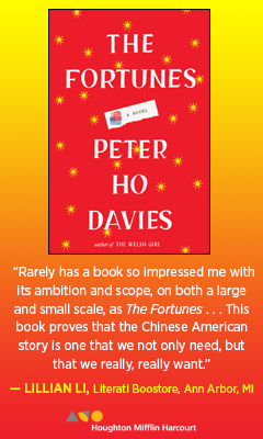 Houghton Mifflin: The Fortunes by Peter Ho Davies