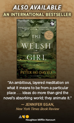 Houghton Mifflin: The Welsh Girl by Peter Ho Davies