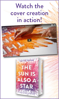 Delacorte Press: The Sun Is Also a Star by Nicola Yoon