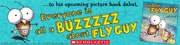 Scholastic: A Pet for Fly Guy by Tedd Arnold