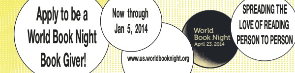 Apply to be a World Book Night Giver!