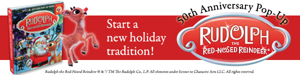 Silver Dolphin: Rudolph the Red-Nosed Reindeer Pop-Up Book by Lisa Marsoli