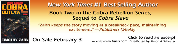 Baen: Cobra Outlaw by Timothy Zahn