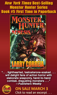 Baen: Monster Hunter Nemesis by Larry Correia
