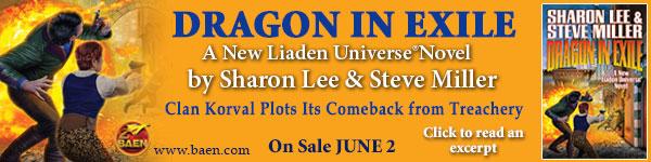 Baen: Dragon in Exile by Sharon Lee & Steve Miller