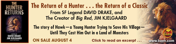 Baen: The Hunter Returns by David Drake & Jim Kjelgaard