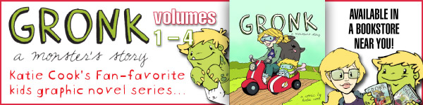 Diamond: Gronk:A Monster's Story, Volumes 1-4 by Katie Cook