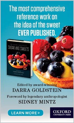 Oxford University Press: The Oxford Companion to Sugar and Sweets edited by Darra Goldstein