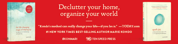 Ten Speed Press: The Life-Changing Magic of Tiding Up and Spark Joy by Marie Kondo