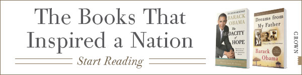 Crown Publishing Group: Books by President Barack Obama
