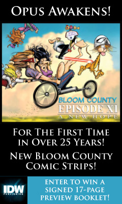 IDW Publishing: Bloom County Episode XI A New Hope by Berkeley Breathed