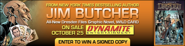 Dynamite Entertainment: Jim Butcher's Dresden Files: Wild Card by Jim Butcher, Mark Powers, and Carlos Gomez