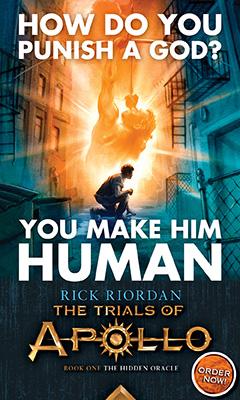 Disney: The Trials of Apollo by Rick Riordan