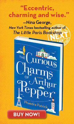 Mira: Curious Charms of Arthur Pepper by Phaedra Patrick