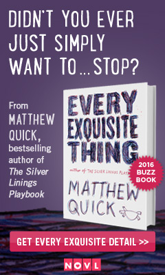Little, Brown Books for Young Readers: Every Exquisite Thing by Matthew Quick