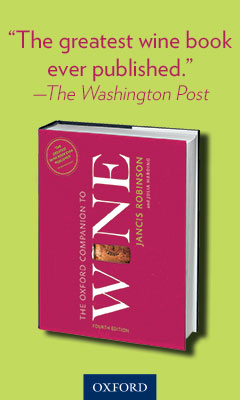 Oxford University Press: The Oxford Companion to Wine edited by Janis Robinson