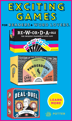 Clarkson Potter Publishers: Exciting Games for Readers and Word Lovers