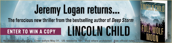 Doubleday Books: Full Wolf Moon by Lincoln Child