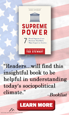 Shadow Mountain: Supreme Power: 7 Pivotal Supreme Court Decisions That Had a Major Impact on America by Ted Stewart