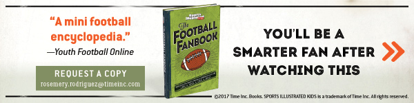 Sports Illustrated Books: The Football Fanbook: Everything You Need to Become a Gridiron Know-It-All by Gary Gramiling and the Editors of Sports Illustrated Kids