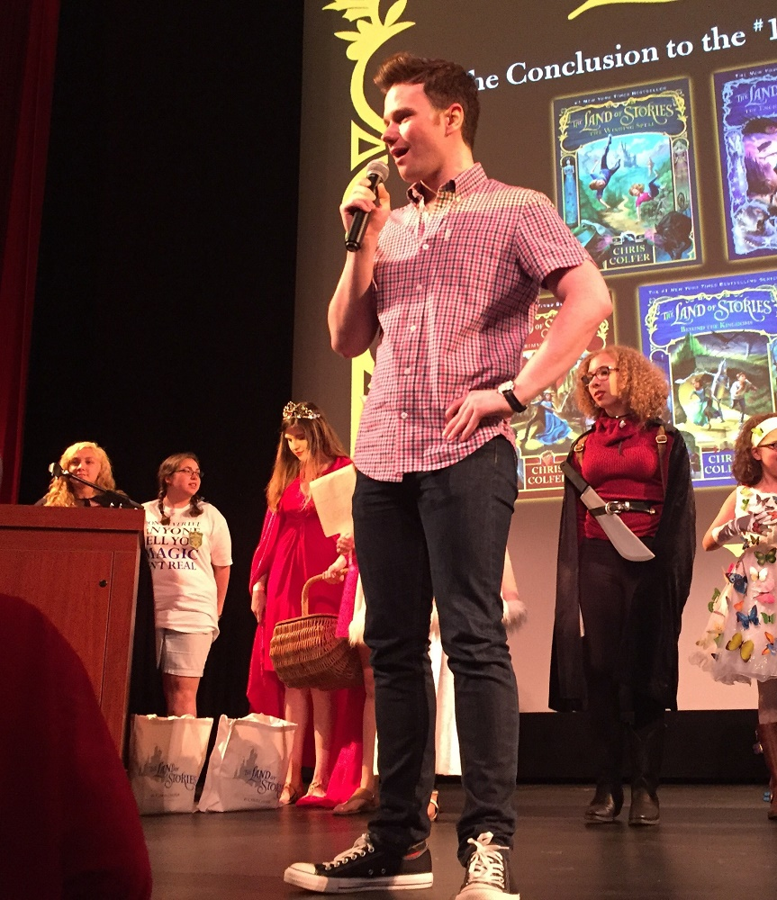 Essex Books Presents Shelf Awareness: Chris Colfer Tours for Final LAND OF STORIES Book