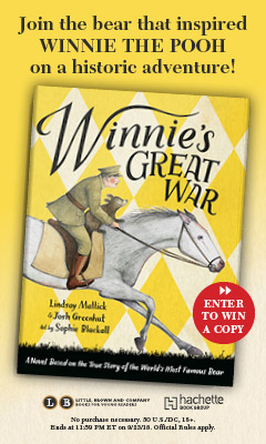 Little, Brown Books for Young Readers: Winnie's Great War by Lindsay Mattick and Josh Greenhut, illustrated by Sophie Blackall