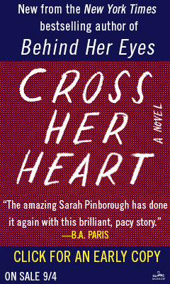 Morrow: Cross Her Heart by Sarah Pinborough