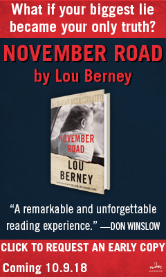 William Morrow & Company: November Road by Lou Berney