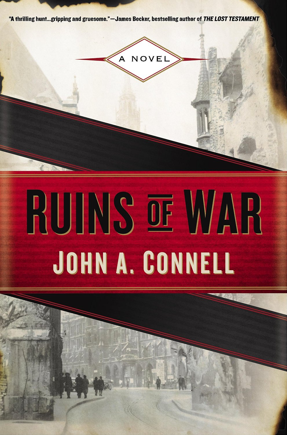 RUINS OF WAR by JOHN A. CONNELL