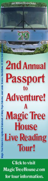 2nd Annual Passport to Adventure! A Magic Tree House Live Reading Tour!