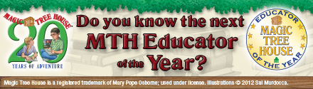 Do you know the next MTH Educator of the Year?