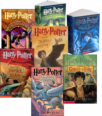 harry potter s books