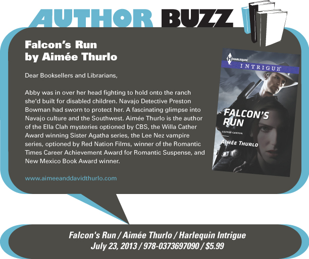 AuthorBuzz: Falcon's Run by Aimee Thurlo