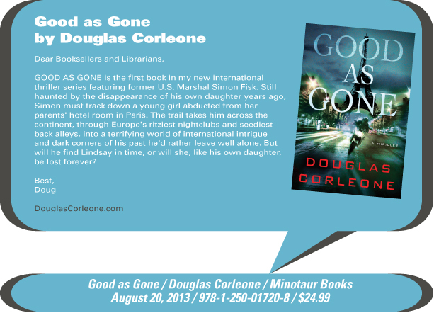 AuthorBuzz: Good as Gone by Douglas Corleone
