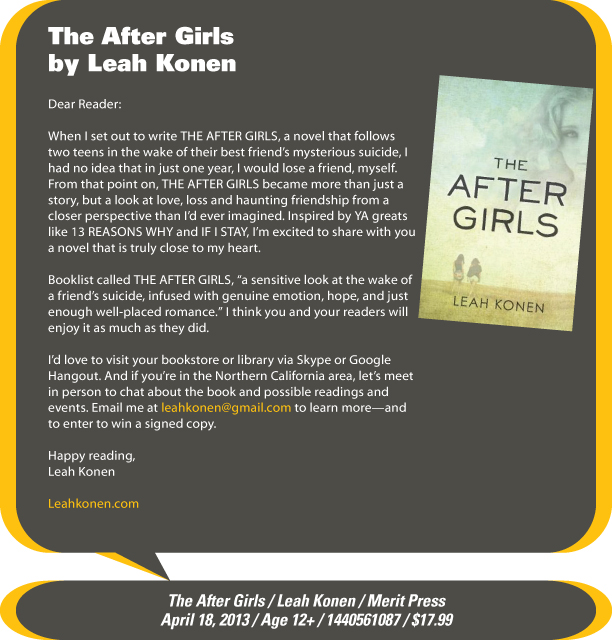 KidsBuzz: The After Girls by Leah Konen