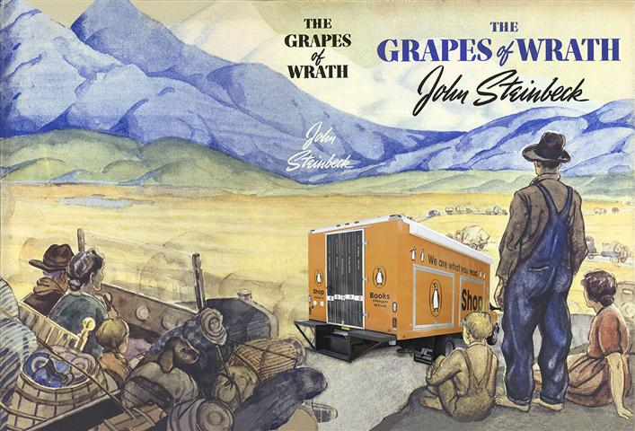 an overview of the migratory experience in the novel grapes of wrath by john steinbeck