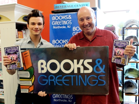 Image of the day teen glee at books greetings shelf awareness image of the day teen glee at books greetings m4hsunfo
