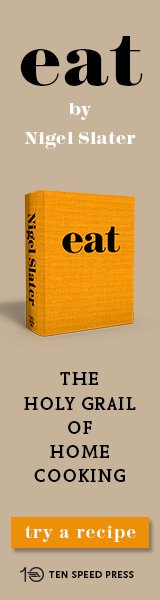 Ten Speed Press: Eat by Nigel Slater