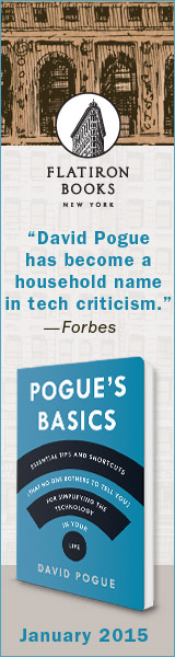 Flatiron Books: Pogue's Basics by David Pogue