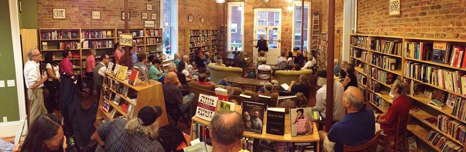 Bill Morris reading at Scuppernong Books