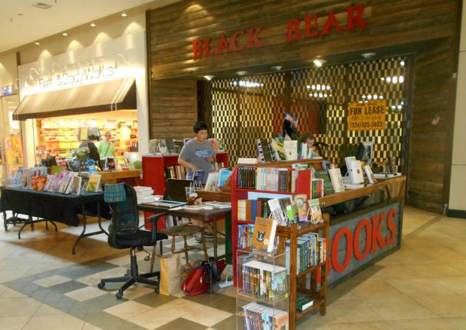 Black Bear Books, Boone, kiosk