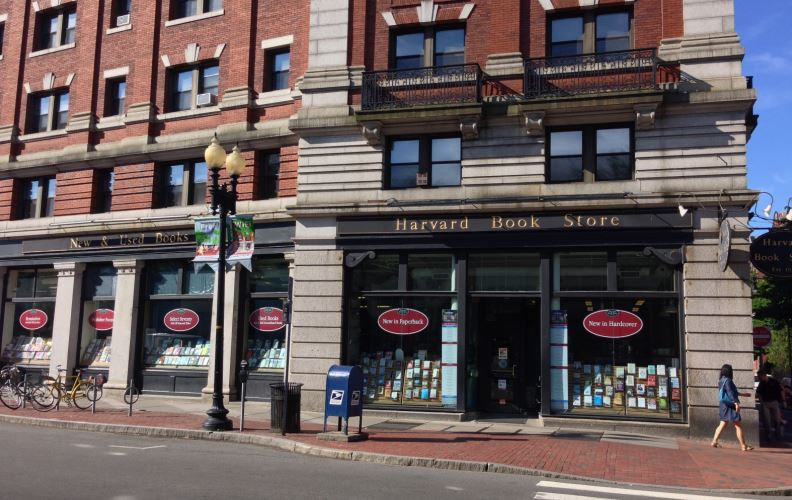 harvard bookstore new england essay